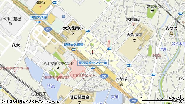〒674-0069 兵庫県明石市大久保町わかばの地図