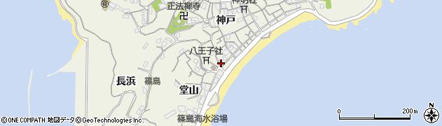 鈴滝商店周辺の地図