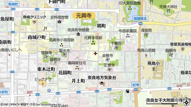 〒630-8321 奈良県奈良市薬師堂町の地図