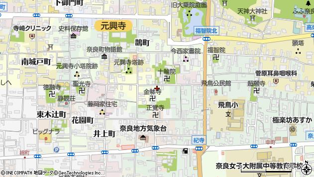〒630-8312 奈良県奈良市十輪院町の地図
