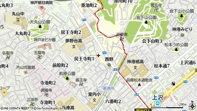〒653-0802 兵庫県神戸市長田区重池町の地図