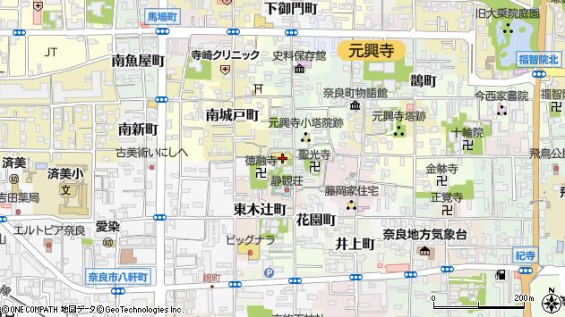 〒630-8335 奈良県奈良市鳴川町の地図