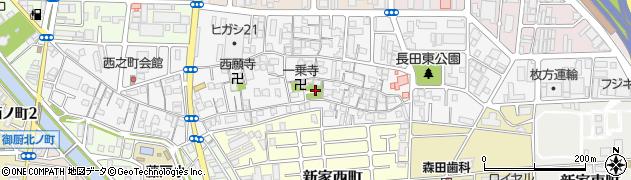 長田神社周辺の地図