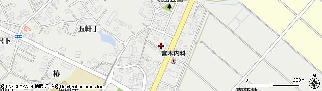 愛知県田原市田原町(晩田)周辺の地図