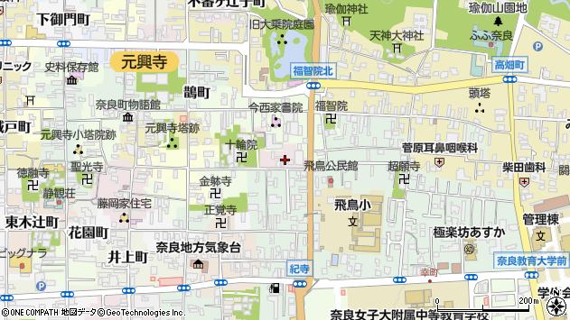 〒630-8311 奈良県奈良市十輪院畑町の地図