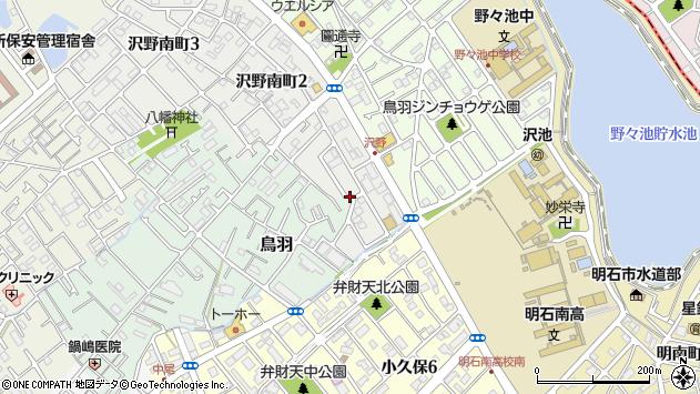 〒673-0007 兵庫県明石市鳥羽西鳥羽の地図