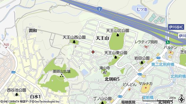 〒651-2123 兵庫県神戸市西区天王山の地図