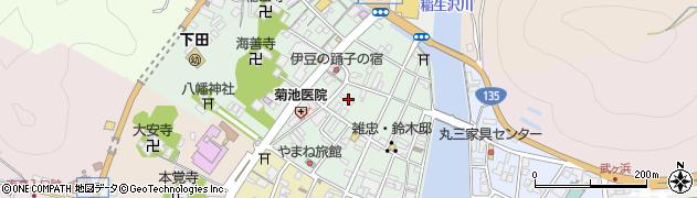 静岡県下田市一丁目周辺の地図