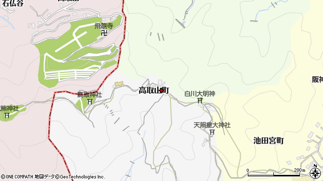 〒653-0856 兵庫県神戸市長田区高取山町の地図