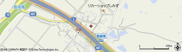 兵庫県神戸市西区伊川谷町周辺の地図
