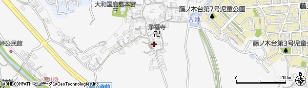 奈良県奈良市中町2211周辺の地図