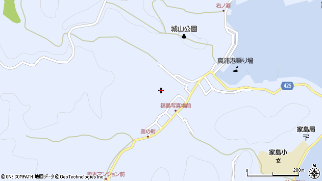 〒672-0101 兵庫県姫路市家島町真浦の地図