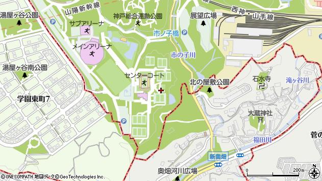 〒654-0163 兵庫県神戸市須磨区緑台の地図