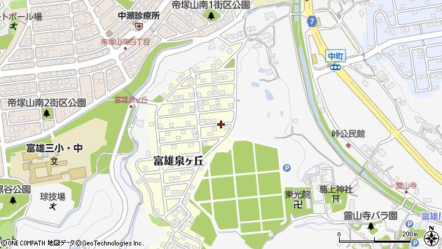 〒631-0051 奈良県奈良市富雄泉ケ丘の地図