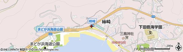 柿崎周辺の地図
