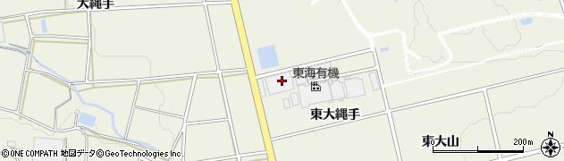 愛知県豊橋市高塚町(東大縄手)周辺の地図