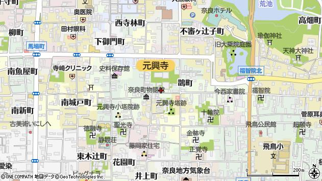 〒630-8385 奈良県奈良市芝突抜町の地図