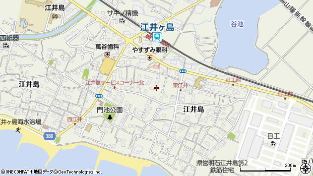 〒674-0064 兵庫県明石市大久保町江井島の地図