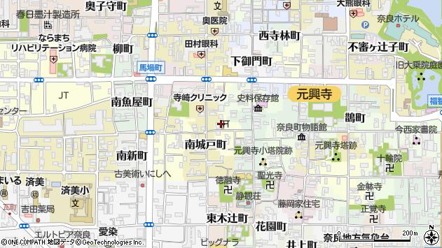 〒630-8338 奈良県奈良市陰陽町の地図