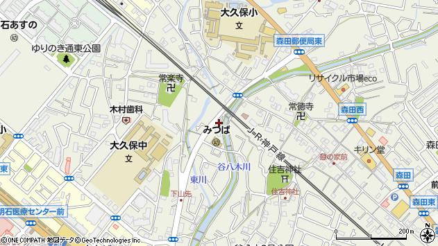 〒674-0067 兵庫県明石市大久保町大久保町の地図