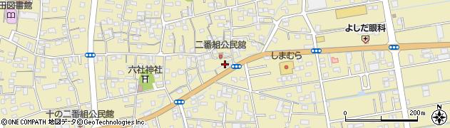 宙千稲荷神社周辺の地図