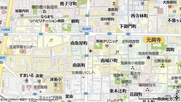 〒630-8348 奈良県奈良市小太郎町の地図