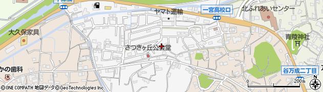 岡山県岡山市北区万成西町周辺の地図