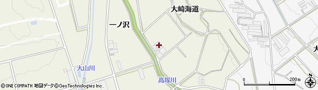愛知県豊橋市高塚町(大崎海道)周辺の地図