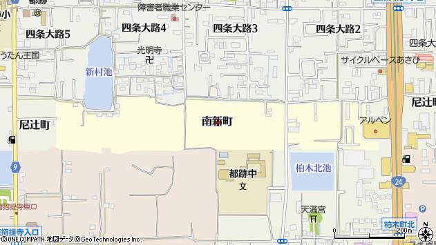 〒630-8016 奈良県奈良市南新町(52〜212番地)の地図