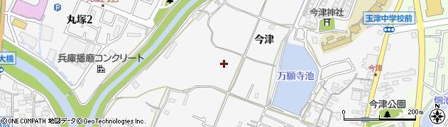 兵庫県神戸市西区玉津町(今津)周辺の地図