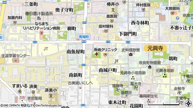 〒630-8351 奈良県奈良市南風呂町の地図