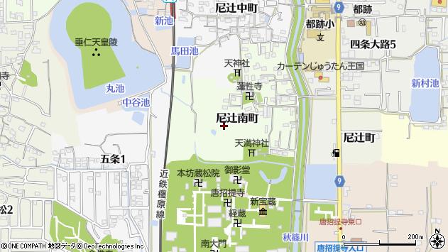 〒630-8022 奈良県奈良市尼辻南町の地図