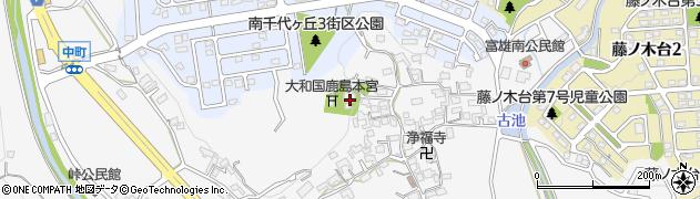 奈良県奈良市中町2235周辺の地図