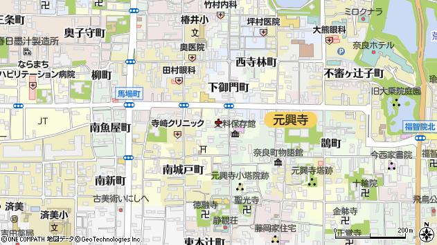 〒630-8337 奈良県奈良市脇戸町の地図