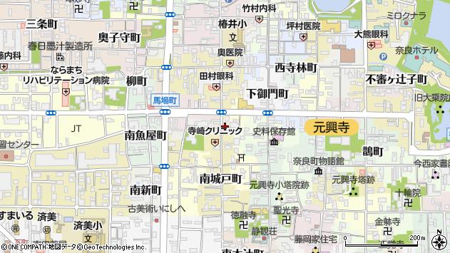 〒630-8347 奈良県奈良市南中町の地図
