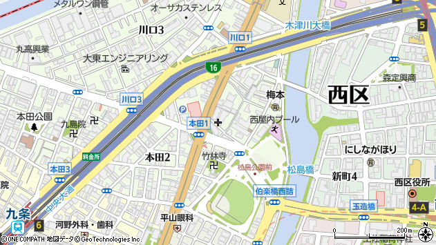 大阪 市 西区 立売堀 郵便 番号