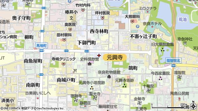 〒630-8364 奈良県奈良市北室町の地図