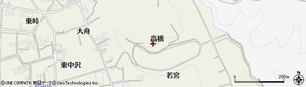愛知県豊橋市小島町(高橋)周辺の地図
