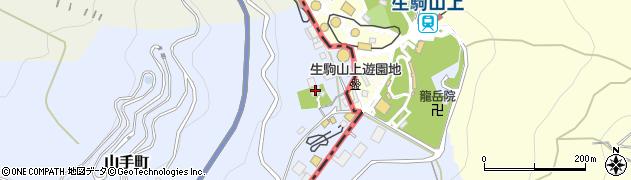 八大龍王総本山龍光寺周辺の地図