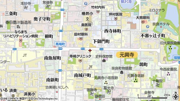 〒630-8346 奈良県奈良市阿字万字町の地図