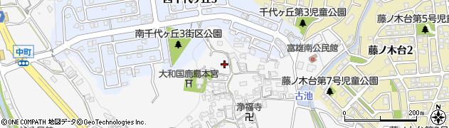 奈良県奈良市中町2238周辺の地図