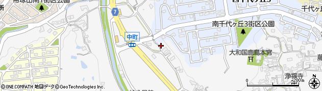 奈良県奈良市中町2309周辺の地図