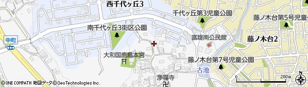 奈良県奈良市中町2136周辺の地図