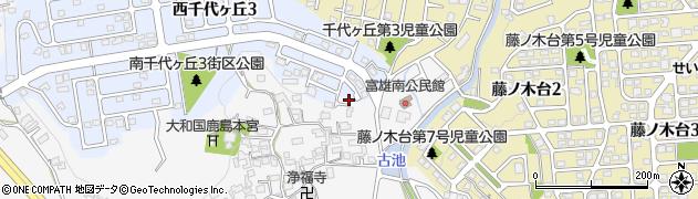 奈良県奈良市中町2099周辺の地図