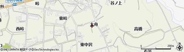 愛知県豊橋市小島町周辺の地図
