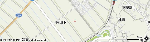 愛知県豊橋市杉山町周辺の地図