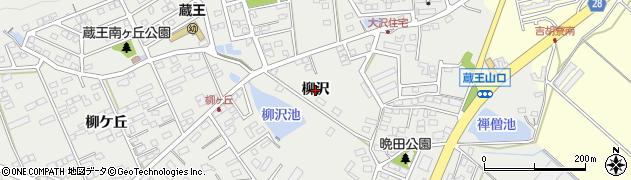 愛知県田原市田原町(柳沢)周辺の地図