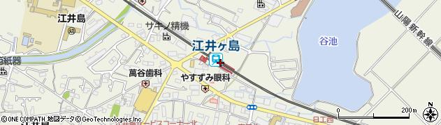 兵庫県明石市周辺の地図