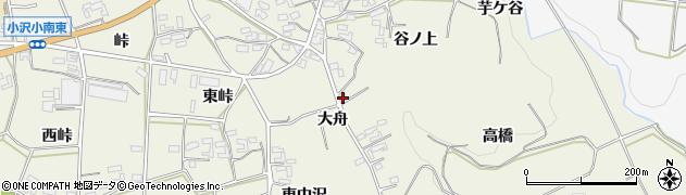 愛知県豊橋市小島町(大舟)周辺の地図