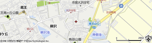 愛知県田原市田原町(北荒井)周辺の地図